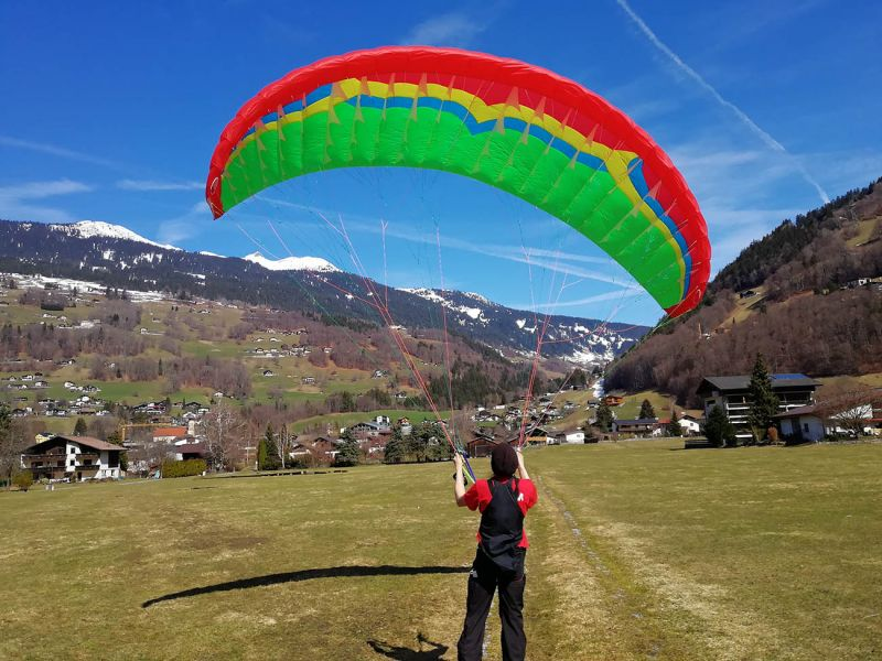 Welcome Independence Paragliding