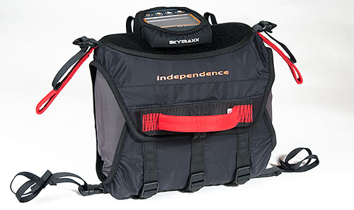 Smart - round rescue parachute - independence paragliding