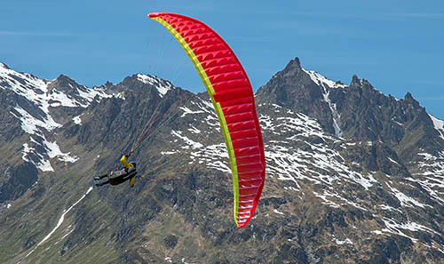 Paragliding equipment for thermal flying and XC - independence